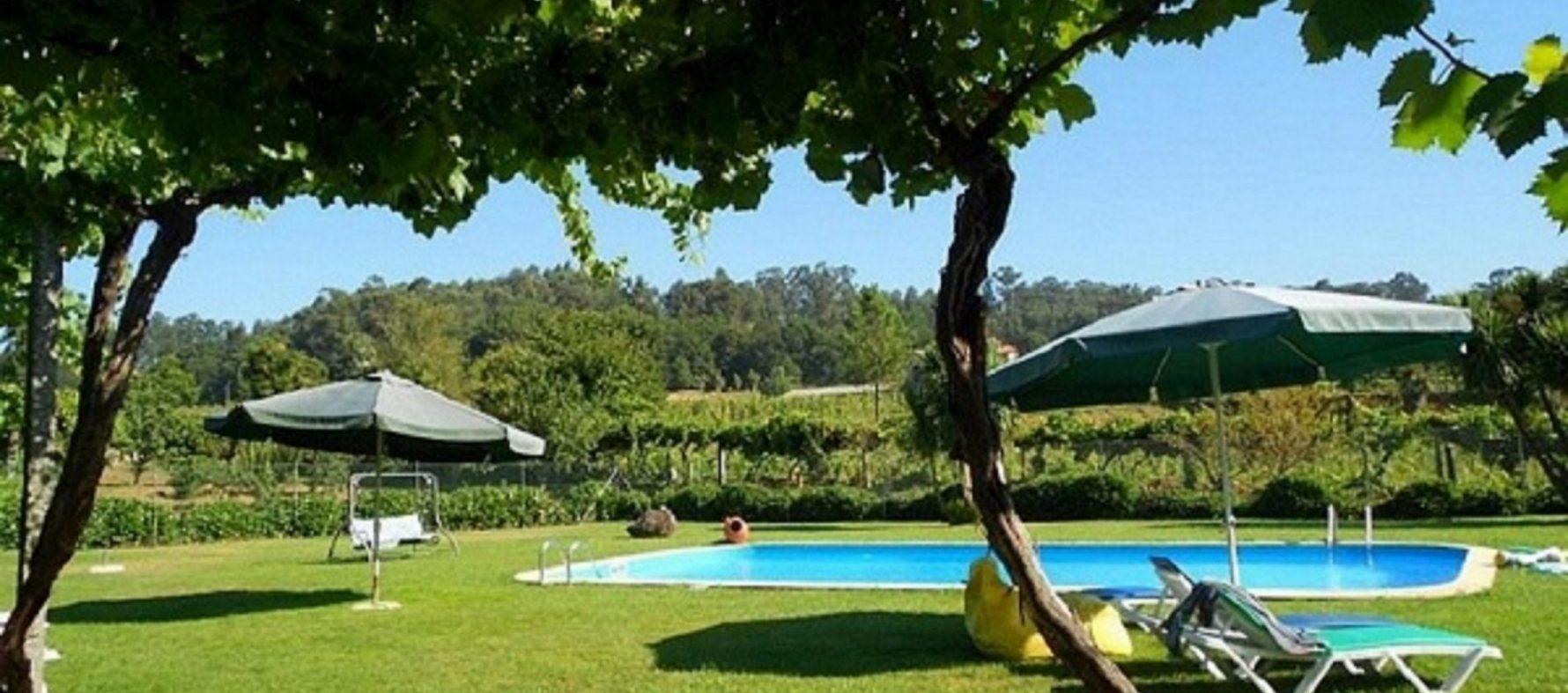 Área exterior – piscina